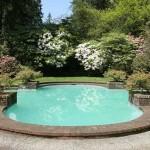 Quatrefoil pool